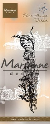 Marianne Design Stamp - Tiny's Border Kittens TC0873