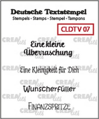 Crealies Tekst & Zo Deutsch - Viel  7