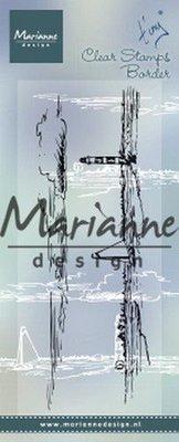 Marianne Design Stempel - Tiny's Border Horizon TC0874