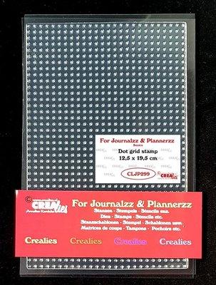 Crealies Journalzz & Plannerzz - Stamp: Bulletjournaling Dot grid