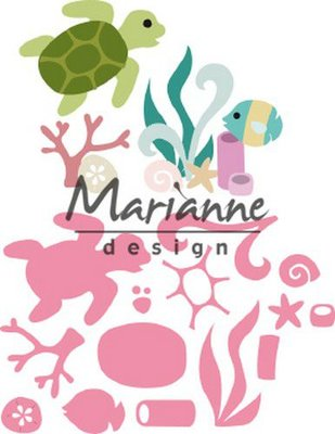 Marianne Design Collectable - Sealife by Marleen COL1468