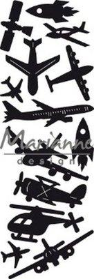 Marianne Design Craftable - Punch Die Aviation CR1471