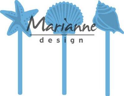 Marianne Design Creatable - Sea Shells Pins LR0602
