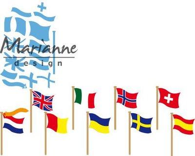 Marianne Design Creatable - Flags LR0603