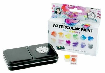 Studio Light Aquarelset - Watercolor Art by Marlene 3.0 nr. 1 WCBM01