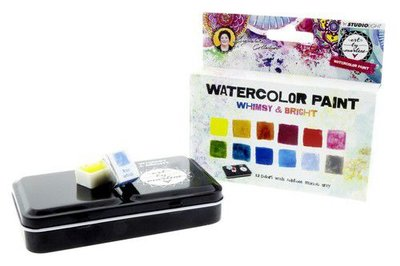 Studio Light Aquarelset - Watercolor Art by Marlene 3.0 nr. 2 WCBM02