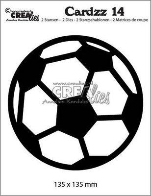 Crealies Cardzz 14 Soccer