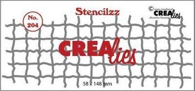 Crealies Stencilzz - Mesh