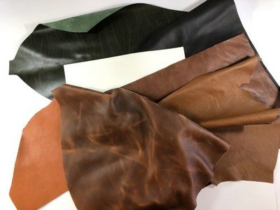 CraftEmotions Leather Pieces Assortment Large A4+