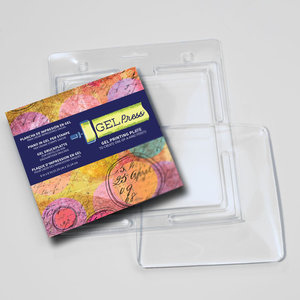 "Gel Press Gel Plate - Square 6"" x 6"""