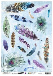 Studio Light Rice Paper - Mindful Art 5.0 no. 34