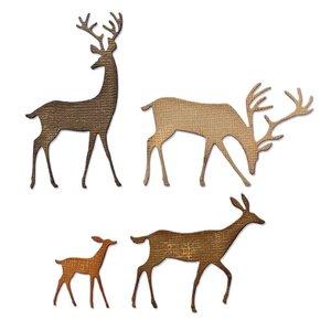 Sizzix Thinlits Die - Darling Deer 664968