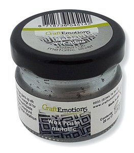 CraftEmotions Wax Paste - Silver