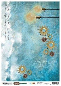Studio Light Rice Paper - Just Lou Aviation no. 16