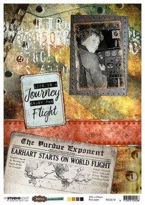 Studio Light Rice Paper - Just Lou Aviation no. 18