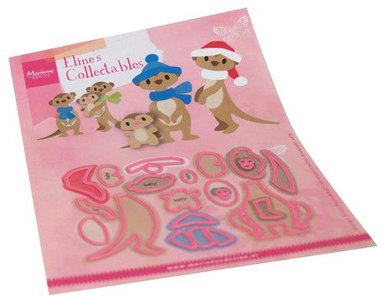 Marianne Design Collectable - Eline's Meercats COL1490