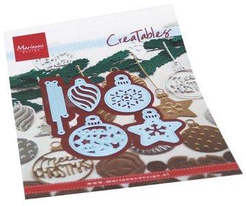 Marianne Design Creatable - Happy New Year Baubles LR0681
