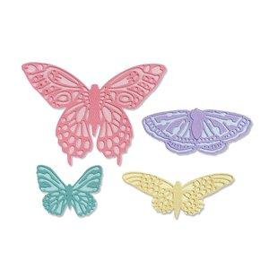 Sizzix Thinlits Die - Flutter on By 665097