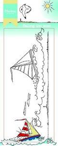 Marianne Design Stamp - Border Sailing the Seas HT1623