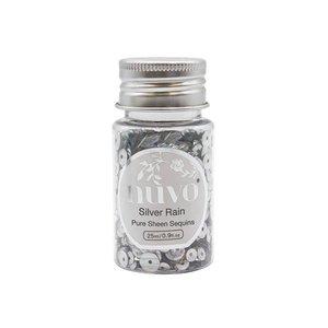 Nuvo Pure Sheen Sequins - Silver Rain 1144N